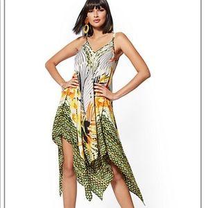 NY&Co New York & Company XL Handkerchief Dress